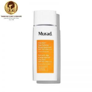 Kem chống nắng khoáng chất 5 tác động City Skin Age Defense Broad Spectrum SPF 50 PA++++