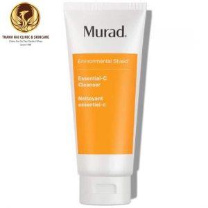 Sữa rửa mặt làm khỏe và phục hồi độ ẩm Essential-C Cleanser Murad