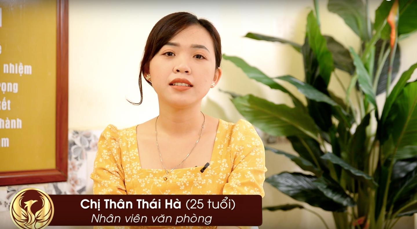 Thân Thái Hà – Thanh Hải Clinic & Skincare giúp tôi sạch mụn