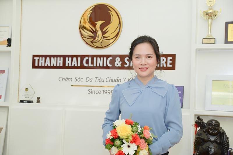 Doanh nhân Trần Thị Tưởng – Thanh Hải Clinic & Skincare là địa chỉ tin cậy để gửi gắm sức khỏe làn da và sắc đẹp