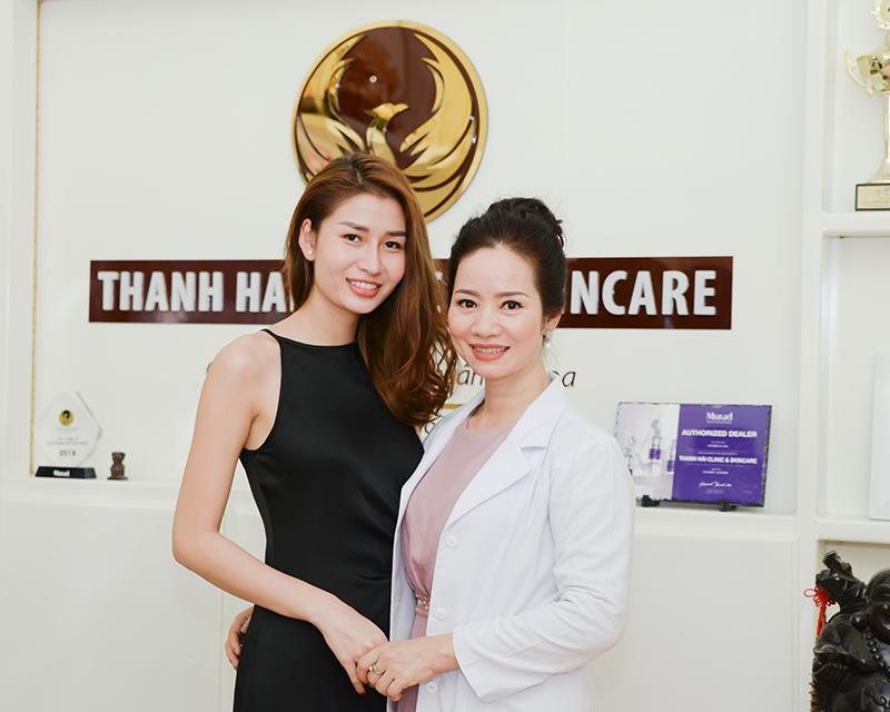 Người mẫu Thu Ngân – Làn da của tôi được cải thiện và hết kích ứng khi điều trị tại Thanh Hải Clinic & Skincare