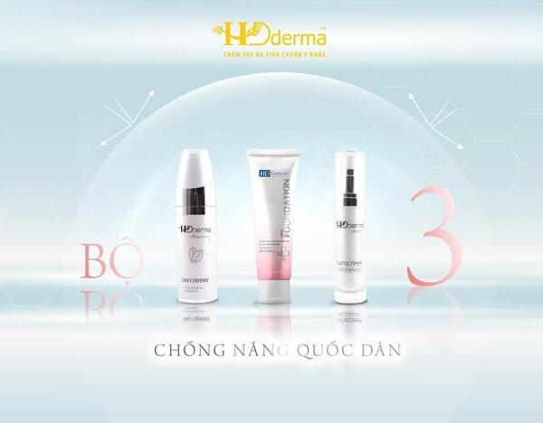 Kem chống nắng Herbal Sunscreen HD Derma là một trong những sản phẩm chống nắng best seller của hãng