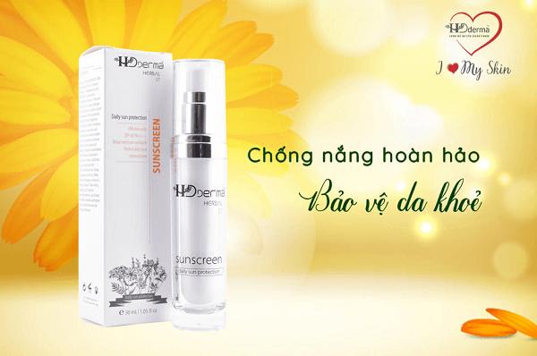 Kem chống nắng Herbal Sunscreen theo công thức đạt chuẩn Y Khoa, phù hợp với mọi làn da