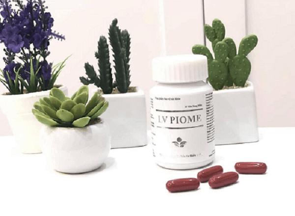 LV Piome hỗ trợ hạn chế lão hóa da, giúp trắng da trị nám