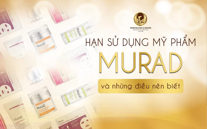 Cách xác định hạn sử dụng mỹ phẩm Murad