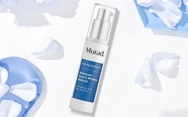Serum trị mụn chống lão hóa Murad Advanced Acne & Wrinkle Reducer có tác dụng sau 3 tuần sử dụng