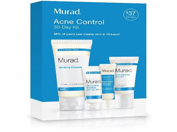 Murad cho ra mắt bộ kit trị mụn bao gồm kem trị mụn tầng sâu để khách hàng có nhiều sự lựa chọn