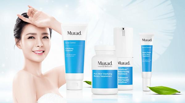 Các sản phẩm nổi bật của thương hiệu mỹ phẩm Murad