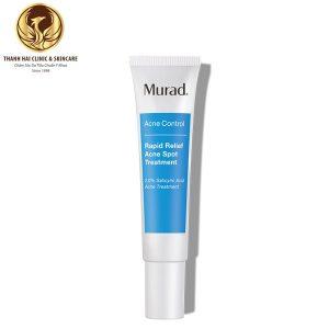 Kem chấm mụn Murad Rapid Relief Acne Spot Treatment trong 4h