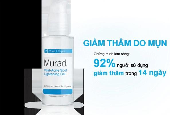Sản phẩm Serum giảm thâm mụn Murad Post-Acne Spot Lightening được nhiều người trên thế giới tin dùng