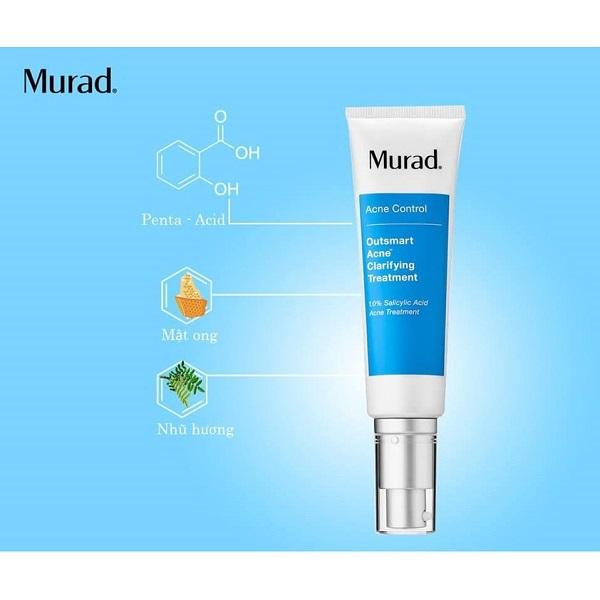 Thành phần sản phẩm đều là những hoạt chất lành tính, được chứng thực an toàn cho da