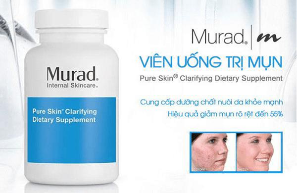 Viên uống giảm Mụn Murad Pure Skin Clarifying