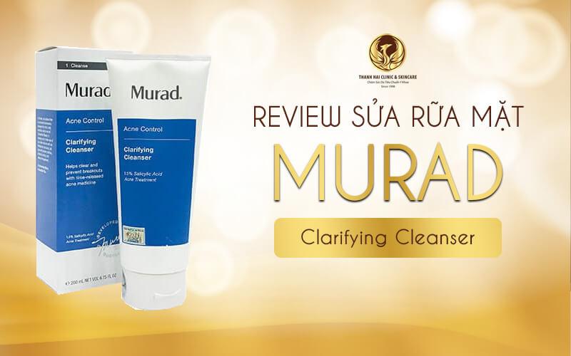 Review sữa rửa mặt Murad Clarifying Cleanser từ Chuyên gia