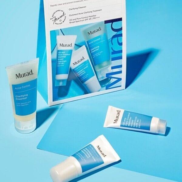 Các sản phẩm trị mụn của Murad nổi tiếng với độ hiệu quả nhanh & an toàn