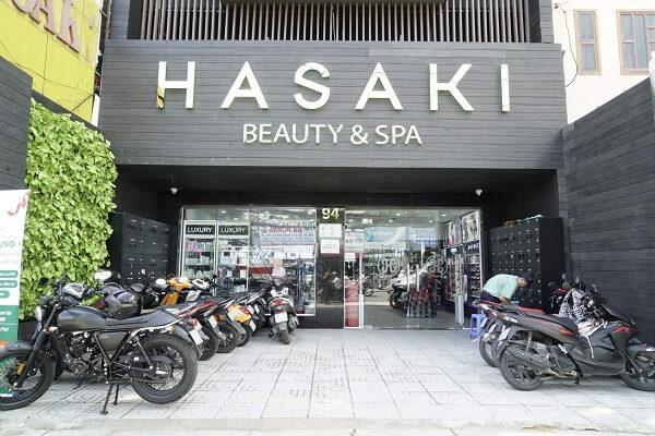 Hasaki là 1 chuỗi hệ thống mỹ phẩm kết hợp với Spa