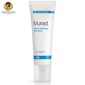Kem trị mụn tầng sâu Murad Acne CLearing Solution;