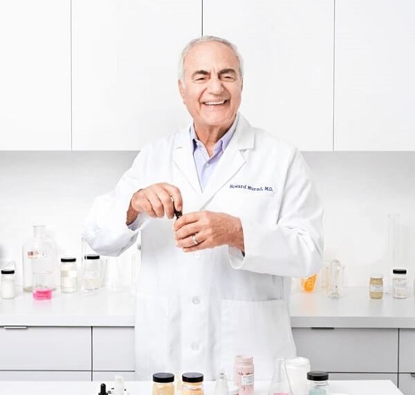 Người sáng lập nên Murad - Tiến sĩ, Bác sĩ Dr.Howard Murad