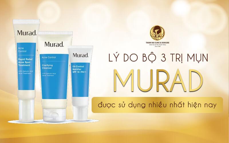 Bộ ba trị mụn Murad