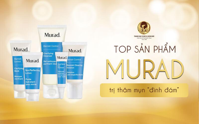 Top sản phẩm Murad trị thâm mụn đình đám