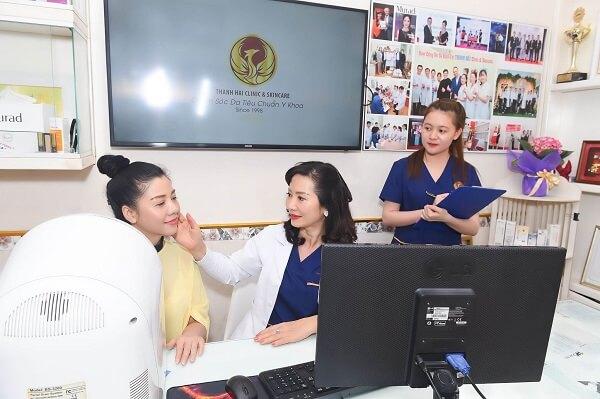 Chuyên gia Thanh Hải với 20 năm kinh nghiệm điều trị mụn